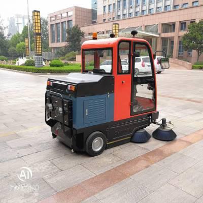驾驶式全封闭电动扫地车物业小区专用小型扫地车多少钱一辆