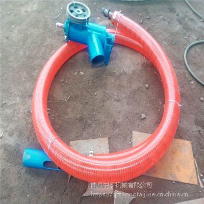加工饲料传送专用软管吸粮机 厚胶管抗冻的多功能抽料机 中泰