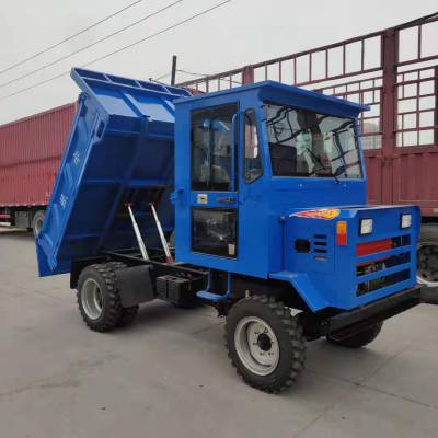 工程运输四不像 四轮六轮爬坡载重拖拉机 建筑工地四不像运输车规格