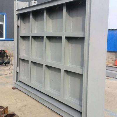 钢闸门厂家 1.2*1.8米钢制方形闸门价格 质量可靠