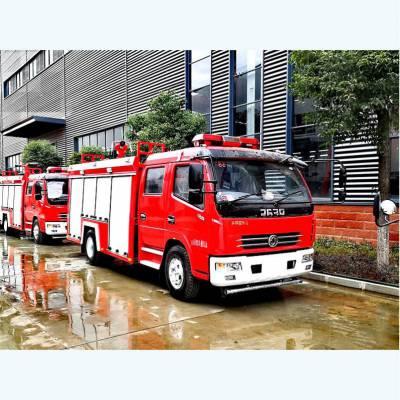 东风小型水罐消防车参数及性能 图配文详细介绍