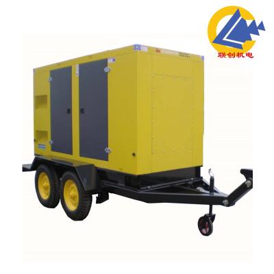 工地用50KW上柴移动柴油发电机组优惠价格