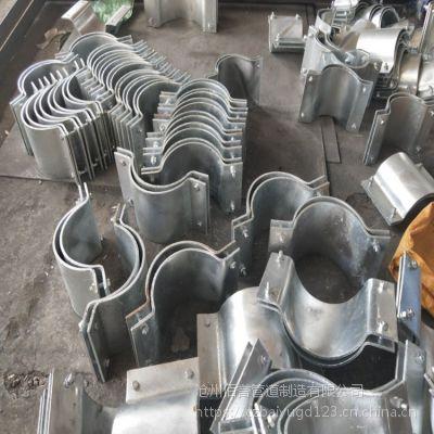 生产Z2焊接固定支座厂家 φ273mm焊接固定支座