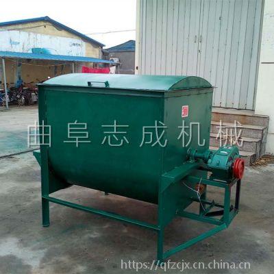 新疆拌草机厂家 卧式搅拌机价格 加工定制卧式拌料机 饲料搅拌机