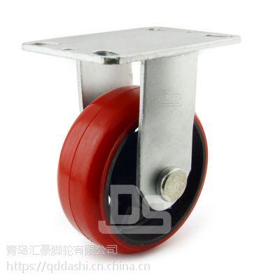 重型脚轮 铁芯聚氨酯脚轮 载重450-650kg