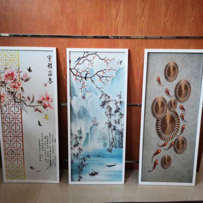 理光竹木纤维板uv平板打印机 3D竹木纤维板理光uv平板打印机生产厂家