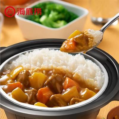 广式腊味炒饭350g速食半成品快餐米饭生产线