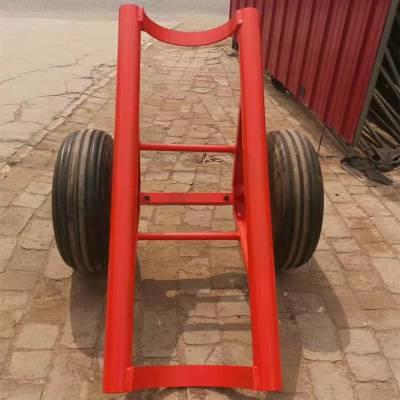 云南玉溪 单杆运杆车 电线杆运杆车 飞机轮胎运杆车