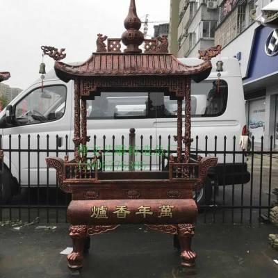 铜雕厂家直销 大型铁香炉铜香炉寺庙香炉宝鼎铸造厂家