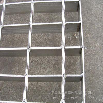 作业平台镀锌钢格板@油田钻井钢格栅板@新疆热镀锌方型格栅板厂家