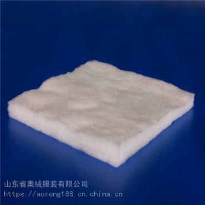供应漂白棉 100%漂白棉花絮片 漂白色全棉针刺棉