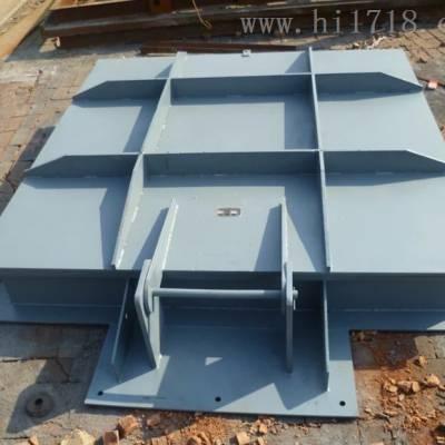 1000*1000渠道钢制闸门尺寸 钢闸门的使用寿命长可定制