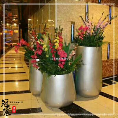 时尚不锈钢花瓶 个性创意不锈钢花插 金属花瓶