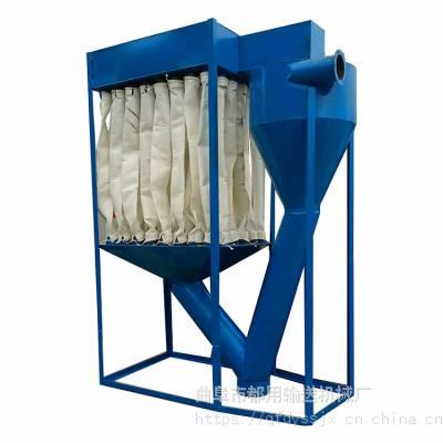 粮食储存库装卸用吸粮机 40吨大型气力吸粮机 直销软管吸粮机厂家qk