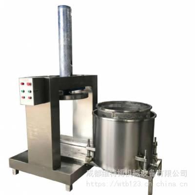螺旋压榨机换轮压榨机果蔬果酒压榨中药提取蔬菜脱水-自动过滤压榨
