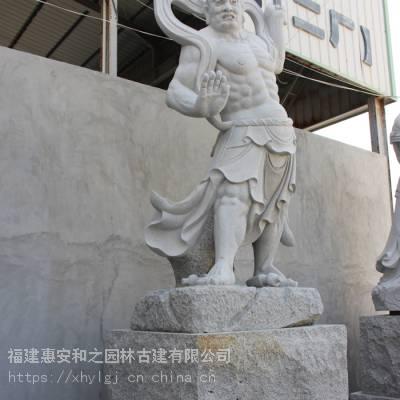 哈尔滨济公石雕 可单订一个石雕摆件八仙寓意哼哈二将陈奇