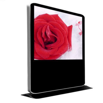 75寸立式横屏广告机 落地式70寸触摸查询一体机 LED超薄4K液晶显示屏