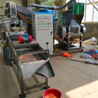 郑州600型干式铜米机 铜线粉碎机 废电线分离设备专业厂家