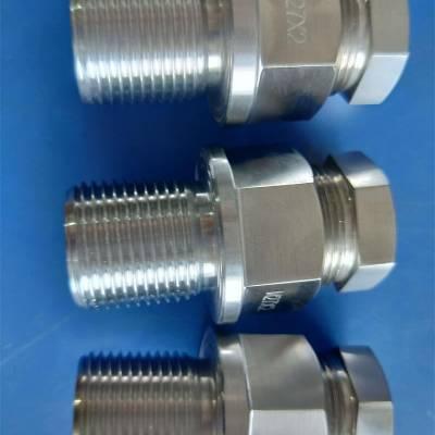 舟山鑫铜仪表201洗六角M27x2螺丝卡套中孔6到22加工