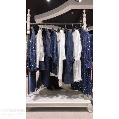【维弋】2019春夏装新款高端时尚大码连衣裙外套一线品牌走份特卖