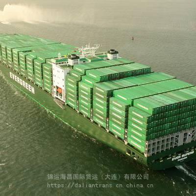 大连港DALIAN到细岛港HOSOHIMA 货运代理 日本 海运价格