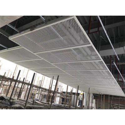 拉伸网铝网板吊顶-走廊通道天花吊顶材料