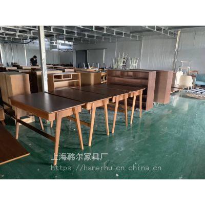 韩尔简约现代品牌 南京人才公寓家具定制 安徽实木家具大型工厂