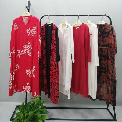 武汉大码OL通勤女装中少淑品牌三弗国际三标齐全女装店进货渠道