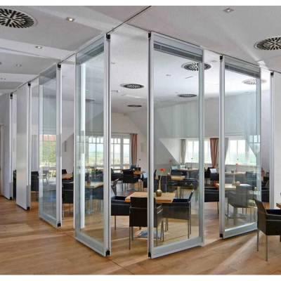 黑龙江客厅餐厅隔断屏风赛勒尔工厂定制活动隔断墙折叠门
