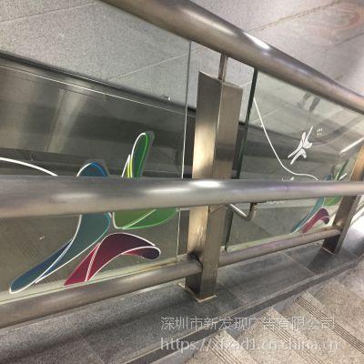 厂家直销高清品UV画面 来图定做广告电梯双面透明背胶可移亚博体育阿根廷合作 新发现