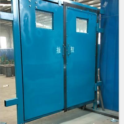 矿用可视风门的优点 双向同步无压风门 异向无压风门技术