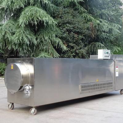 厂家直销连续型青稞电热炒货机 荞麦专用炒货机 自动温控