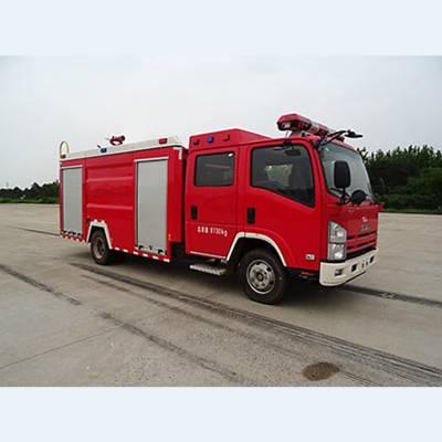 3.5吨五十铃水罐消防车价格 主要参数资料