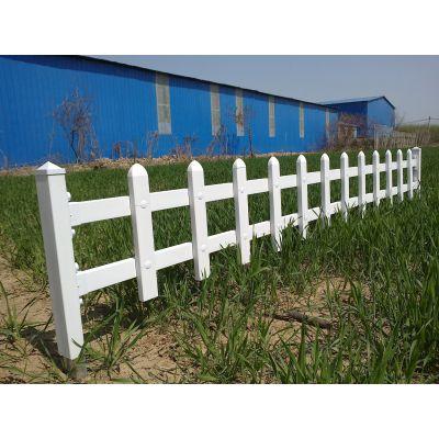 荆州pvc护栏本地厂家 现货花坛围栏高度可定制