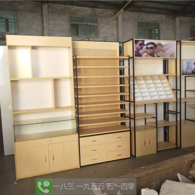 晋城市眼镜展示柜定制眼镜店墨镜隐形眼镜货架中岛柜玻璃陈列柜展示台