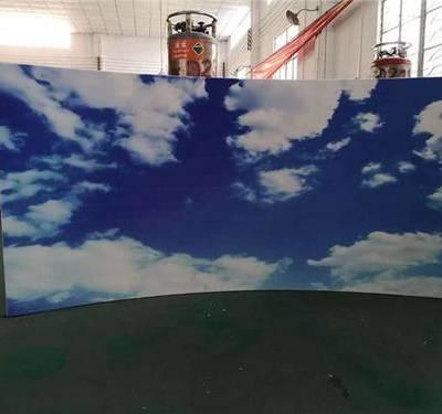 3D打印蓝天白云铝扣板【铝单板】满满的时尚风格