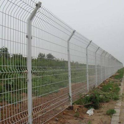 双边护栏网高速公路铁路市政建筑小区监狱车间防护网钢丝网