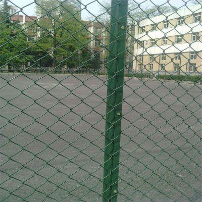 运动场勾花网 羽毛球场围网 操场包塑勾花网