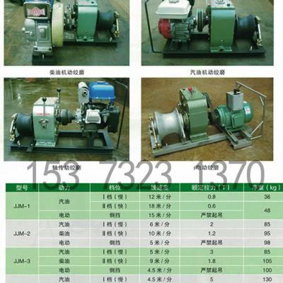 厂家直销手扶式拖拉机绞磨/柴油机动绞磨/电缆牵引机/汽油绞磨机