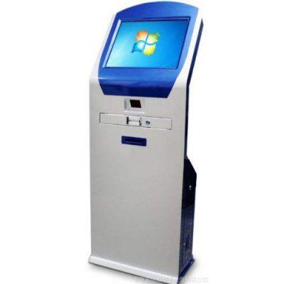 17/19寸电子排队叫号机电子方屏触控小票打印机银行商务大厅取票机