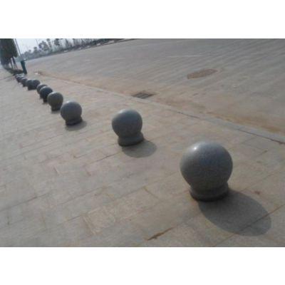 石材厂家生产隔离石墩 车止石球 路障石球 路边石球 规格|图片‖价格