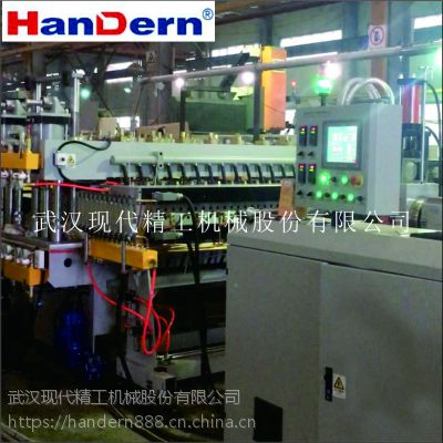 PP中空板生产设备 PP中空板生产机械 Handern现代精工塑料机械