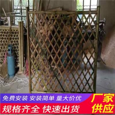 聊城东昌府pvc护栏草坪护栏竹篱笆pvc隔离栏杆