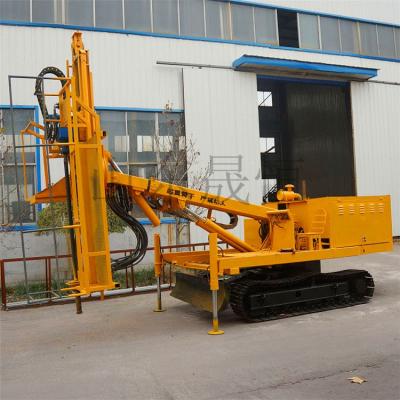 履带式液压基坑钻机 护坡钻机 高效锚杆支护钻机厂家