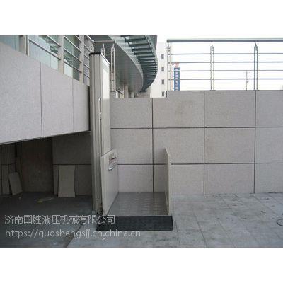 鹤壁老年人升降机 低噪音电梯 无障碍电梯 国胜厂家 质量保证