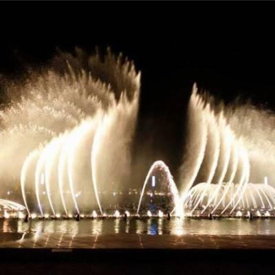 波光音乐喷泉-唐县北方园林古建-唐县音乐喷泉