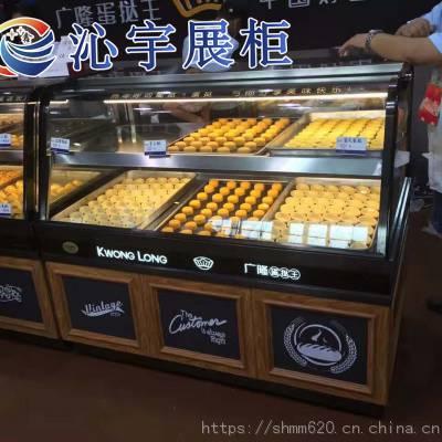 供应沁宇立式弧形双层蛋挞柜(DTG-CS)