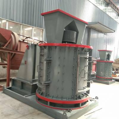 低噪音重型立轴制砂机 立式复合破碎机 风化石山石破碎机