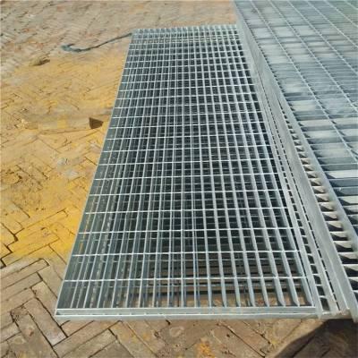 镀锌排水篦子 水沟盖板安装 车间平台钢格栅板