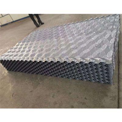 冷却塔新型填料 尺寸800*1200 今日填料厂家直销 品牌华庆